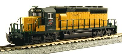 Kato 176-4819 N-Scale SD40-2 Locomotive Early Production w/Brake, C&NW #6858