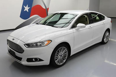 2014 Ford Fusion  2014 FORD FUSION SE ECOBOOST LEATHER NAV REAR CAM 41K #240935 Texas Direct Auto