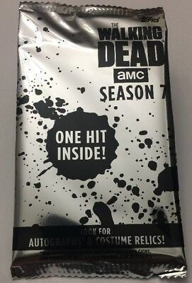 AUTOGRAPH! Blaster Hot Pack 2017 Topps The Walking Dead Season 7 Auto