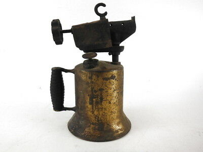 Industrial Vintage Brass Blow Torch Lamp