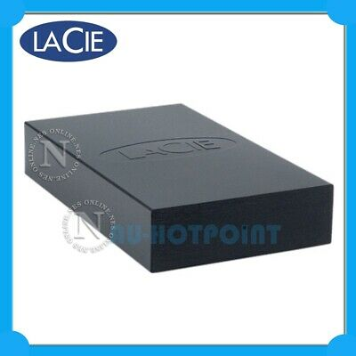 LACIE 500GB Desktop High Spped USB 2.0 External Desktop Hard Drive [PN:301285A]