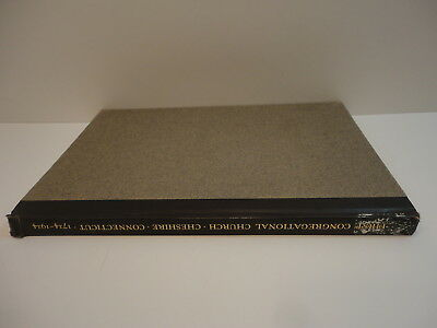 1924 Cheshire Ct First Congregational Church 200th Anniv Book wi History