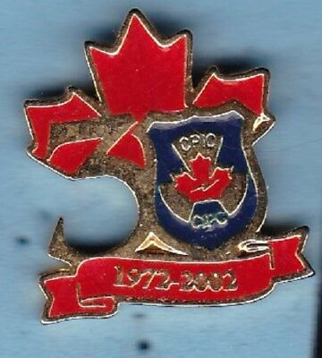 Canadian Police Information Centre - CPIC - 30th Anniversary Souvenir Pin