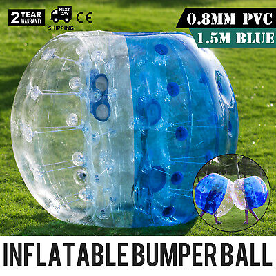 1.5M Inflatable Bumper Football PVC Zorb Ball Bubble Adult Outdoor Reusable