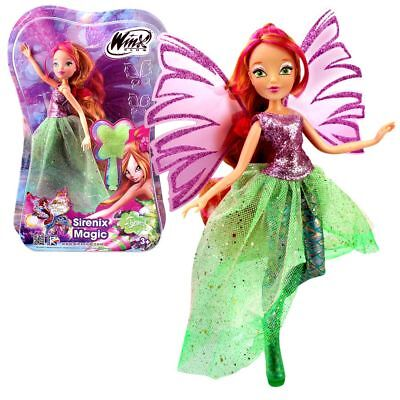 Winx Club - Sirenix Magic Doll - Fairy Flora - The Mystery of the Abyss