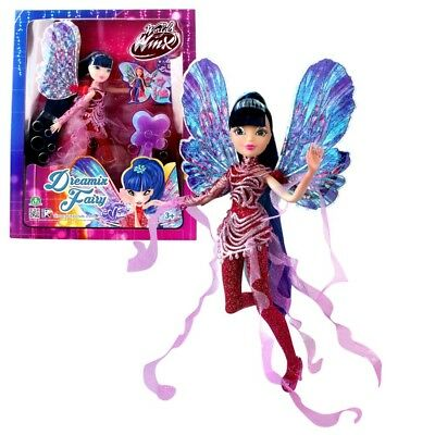 World of Winx - Dreamix Fairy Puppe - Fee Musa magisches Gewand