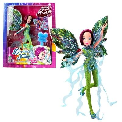 World of Winx - Dreamix Fairy Puppe - Fee Tecna magisches Gewand