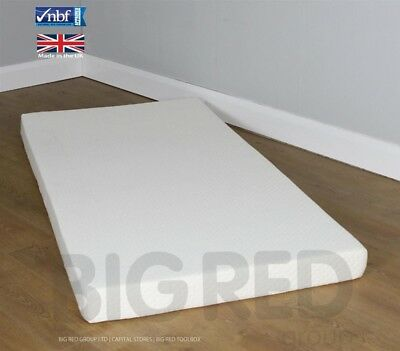Orthopaedic Memory Foam Mattress w/ Washable Cover | Single 3ft | 14cm Depth
