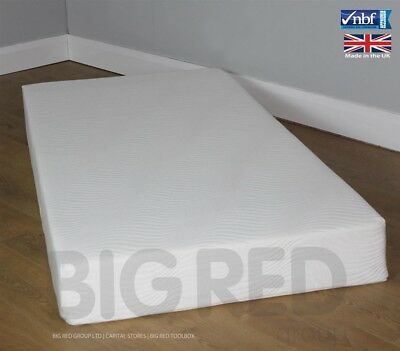 3FT Single Luxury Memory Foam Mattress w/ Washable Cover | 90cm x 190cm