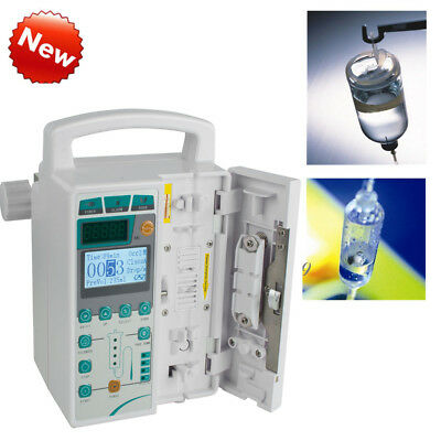 Syringe Pump Infusion Pumps &Alarm equipment Accuracy Injection HD LCD Screen CE