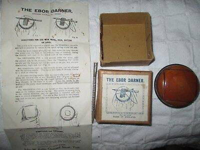 Vintage Ebor Darner in original box with instructions