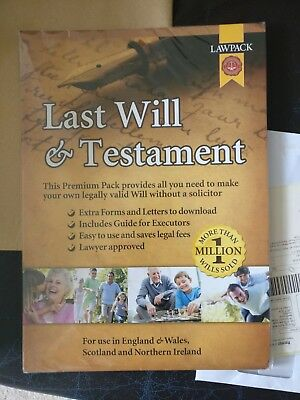 law pack last will and testament - premium pack