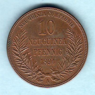 German New Guinea. 1894-A 10 Pfennig..   gEF