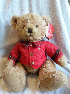 Harrods Christmas Bear 2014 Called Jasper With Tags