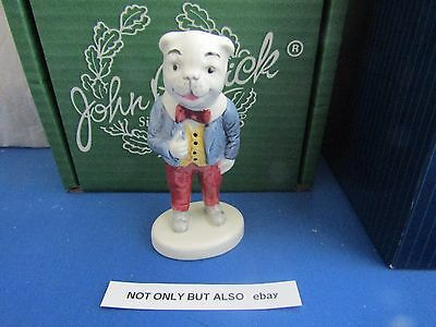 Algy Pug  from Rupert and his Friends 1981 Excellent and boxed Beswick England