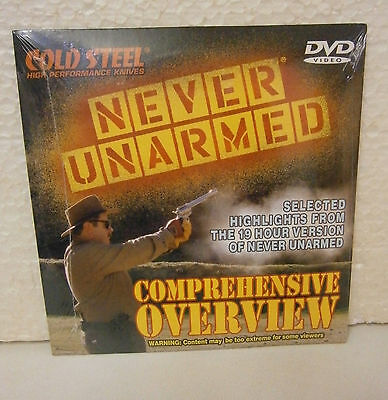 Cold Steel Never Unarmed Overview DVD .