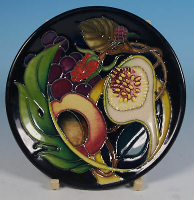 MOORCROFT Queens Choice 780/4 Pin Tray Coaster Emma Bossons Mis Shapen To Clear
