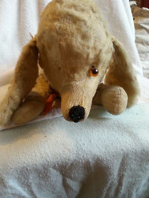 Vintage Pyjama Case Dog Like Merrythought Needs TLC