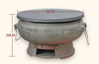 5 Person Retro Simple Style Diameter 31CM Household Outdoor Grill  BBQ *