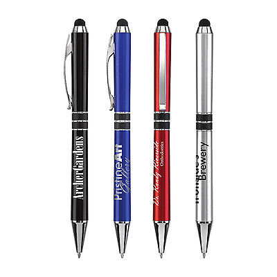 Twist Stylus Pens Personalized Promotional Marketing Giveaway Cheap Free Ship