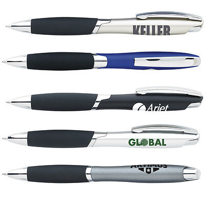 Metallic Pens Personalized Promotional Marketing Giveaway Handouts Advertising