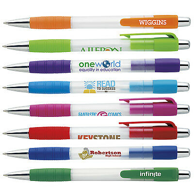 Best Seller Click Grip Pens Personalized Imprint Promotional Cheap Advertising