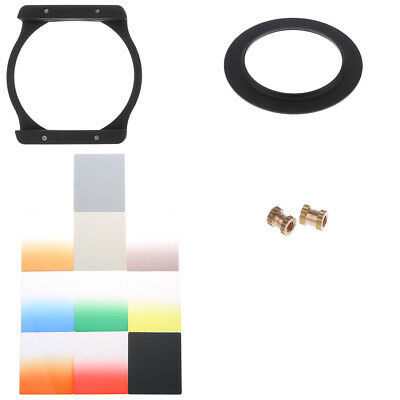 10x Graduated ND 2 4 8 Filter Set + 67mm Ring + Holder for Cokin P for Canon