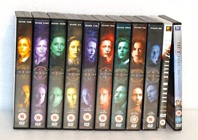 Bundle Of 11 'The X Files' DVD Sets In Good Cosmetic Condition