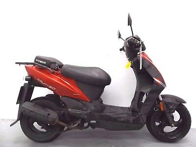 2007 Kymco Agility 49Cc Damaged Spares Or Repair ***no Reserve*** (13138)
