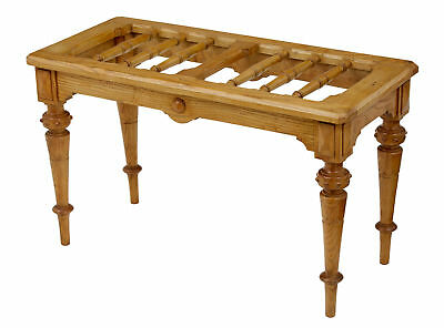 Late 19Th Century Oak Arts And Crafts Luggage Rack