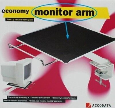 Acco Heavy-Duty Swivel Computer/Monitor Mounting Bracket Arm/Stand