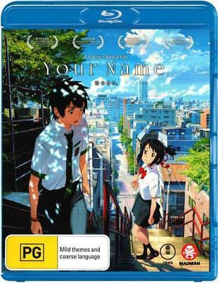 Your Name Blu-ray Region B New!