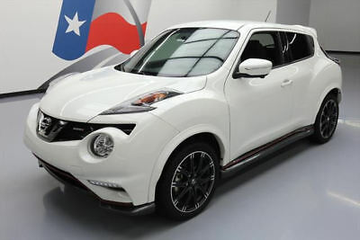 2015 Nissan Juke  2015 NISSAN JUKE NISMO TURBO 6-SPD NAV REAR CAM 16K MI #511208 Texas Direct Auto