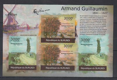 H35. Burundi - MNH - Art - Paintings - Armand Gaillaumin - 2012 - Imperf