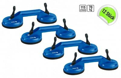 12 x Double Suction Cup Suction Cup Mount Suction Cups Vacuum Lifter