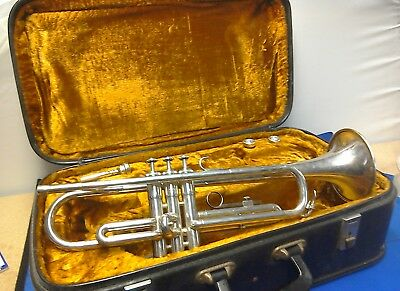 Trumpet In Case, 3 Mouthpieces And Books Included
