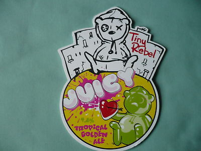 Tiny Rebel Brewery Juicy pump clip front