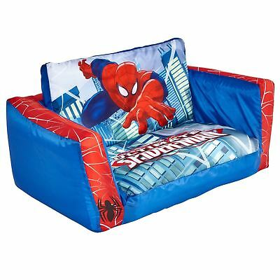 SPIDERMAN FLIP OUT SOFA & LOUNGER BED CHILDRENS INFLATABLE packaging damaged