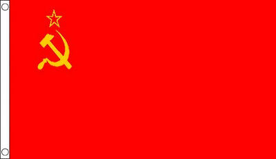 3' x 2' USSR FLAG Russia Russian Union The Union of Soviet Socialist Republics