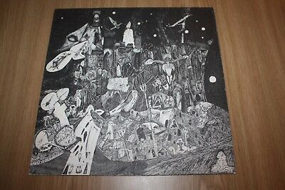 Corpus Christi - Death Church - Fold Out Sleeve + Insert - 1983 - Very Good
