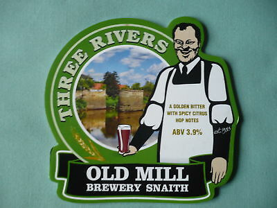 Old Mill BreweryThree Rivers pump clip front