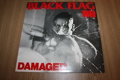 Black Flag - Damaged  - Uk Issue - 1985 - Excellent