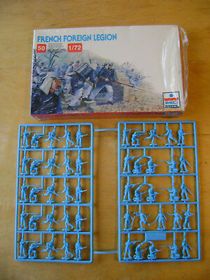 ESCI French Foreign Legion Soldiers. Scale 1:72. Complete and on Sprues.