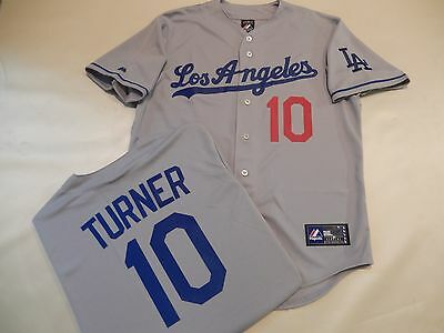 219a5c0e03c ... sweden 71019 majestic mens los angeles dodgers justin turner baseball  jersey new gray 83d90 aa02c