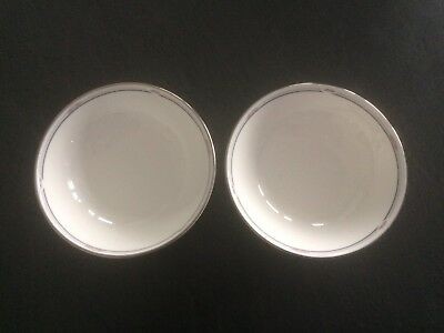 Pair of Royal Doulton Simplicity 13cm/5.2in Cereal/Fruit/Dessert Bowls
