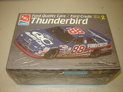 1997 AMT 8160 DALE JARRETT #88 Ford Quality Care / Ford Credit T-Bird  1/25 NEW