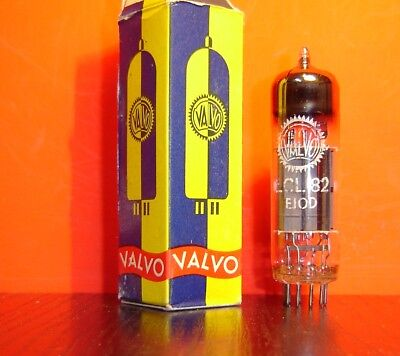 1x VINTAGE VALVO ECL82 RÖHRE  NEU OVP  /  NEW OLD STOCK IN BOX 6BM8 VACUUM TUBES