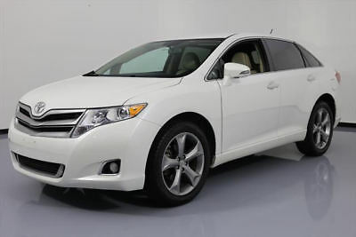 2013 Toyota Venza  2013 TOYOTA VENZA XLE V6 HTD LEATHER NAV REAR CAM 43K #062072 Texas Direct Auto