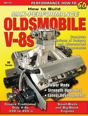 S-A Books Oldsmobile V8 Book P/N 172