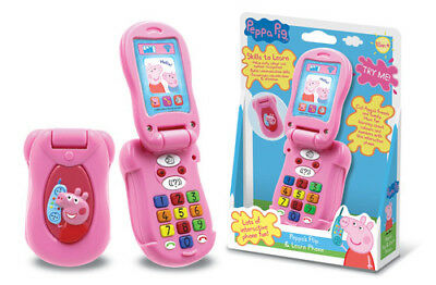 New - Peppa Pig - Peppa's Little Flip Phone - Preschool Toy - ABC Shop